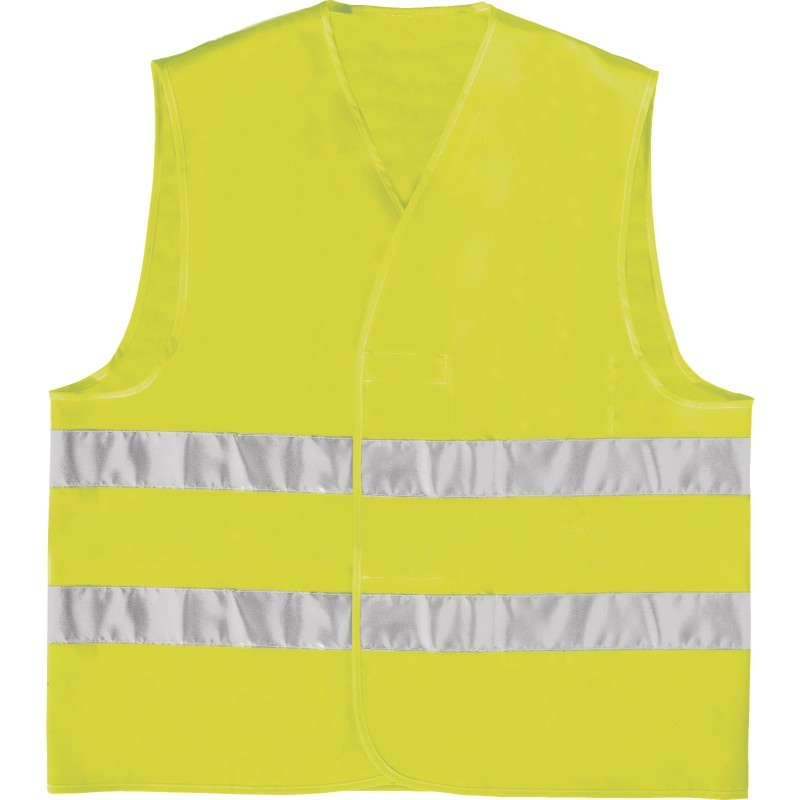 HIGH VISIBILITY VEST GILP2 Fluorescent yellow