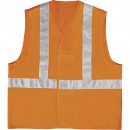GILET HAUTE VISIBILITÉ GILP4 Orange fluo