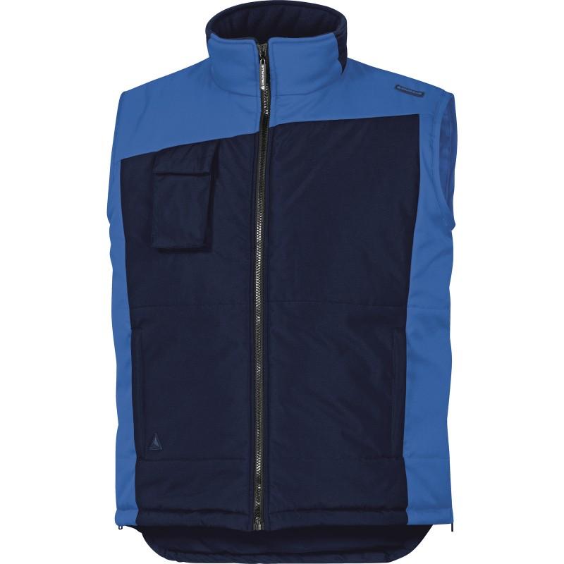 GILET FIDJI2 Bleu Marine-Bleu Roi