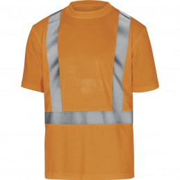 TEE-SHIRT HAUTE VISIBILITÉ COMET Orange fluo