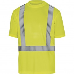 HIGH VISIBILITY T-SHIRT COMET Fluorescent Yellow