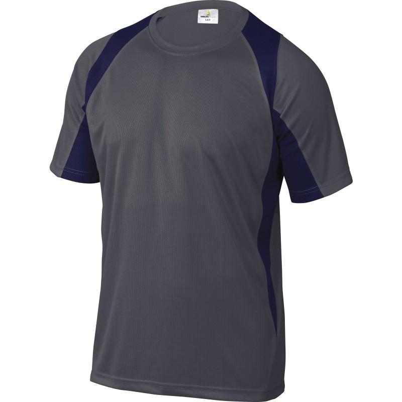 TEE-SHIRT BALI Gris-Bleu Marine