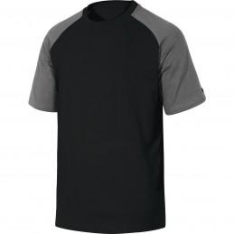 TEE-SHIRT 100% COTTON GENOA Black-Grey