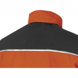 PARKA AREN Orange-Gris