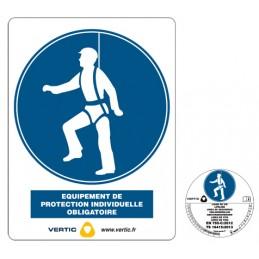 Panneau de sécurité multilingue PS