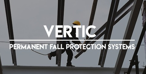 VERTIC / permanent fall protection systems