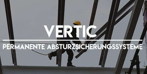 VERTIC / permanente Absturzsicherungssysteme